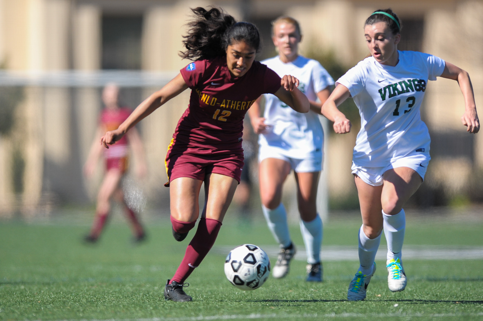 Girls Varsity Soccer Beats Palo Alto High School in First CCS Game