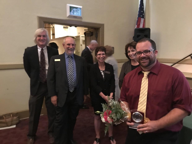 John Giambruno Named Teacher of the District