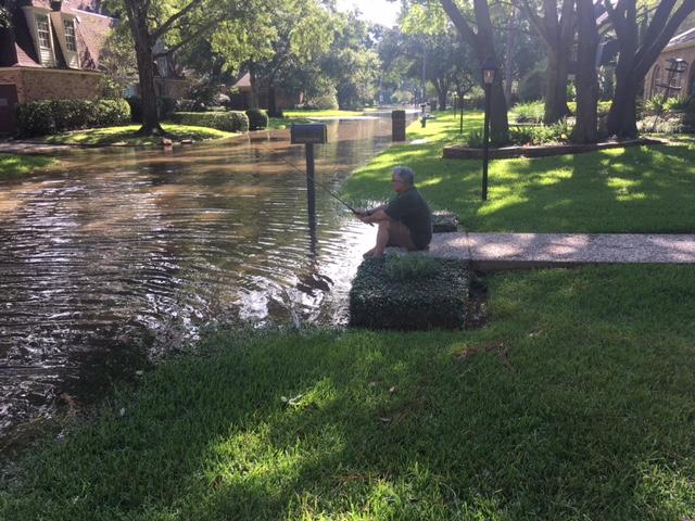 Houston resident shares devastation of Hurricane Harvey