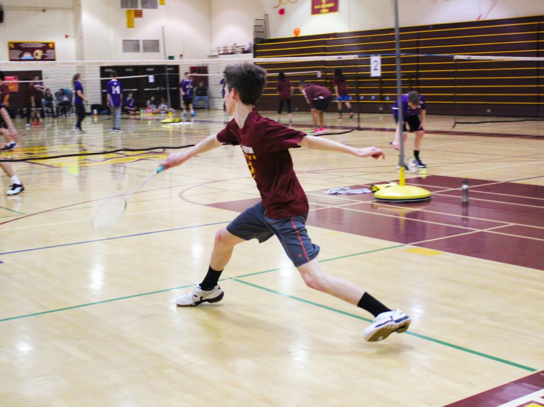 A Close Call for M-A Badminton