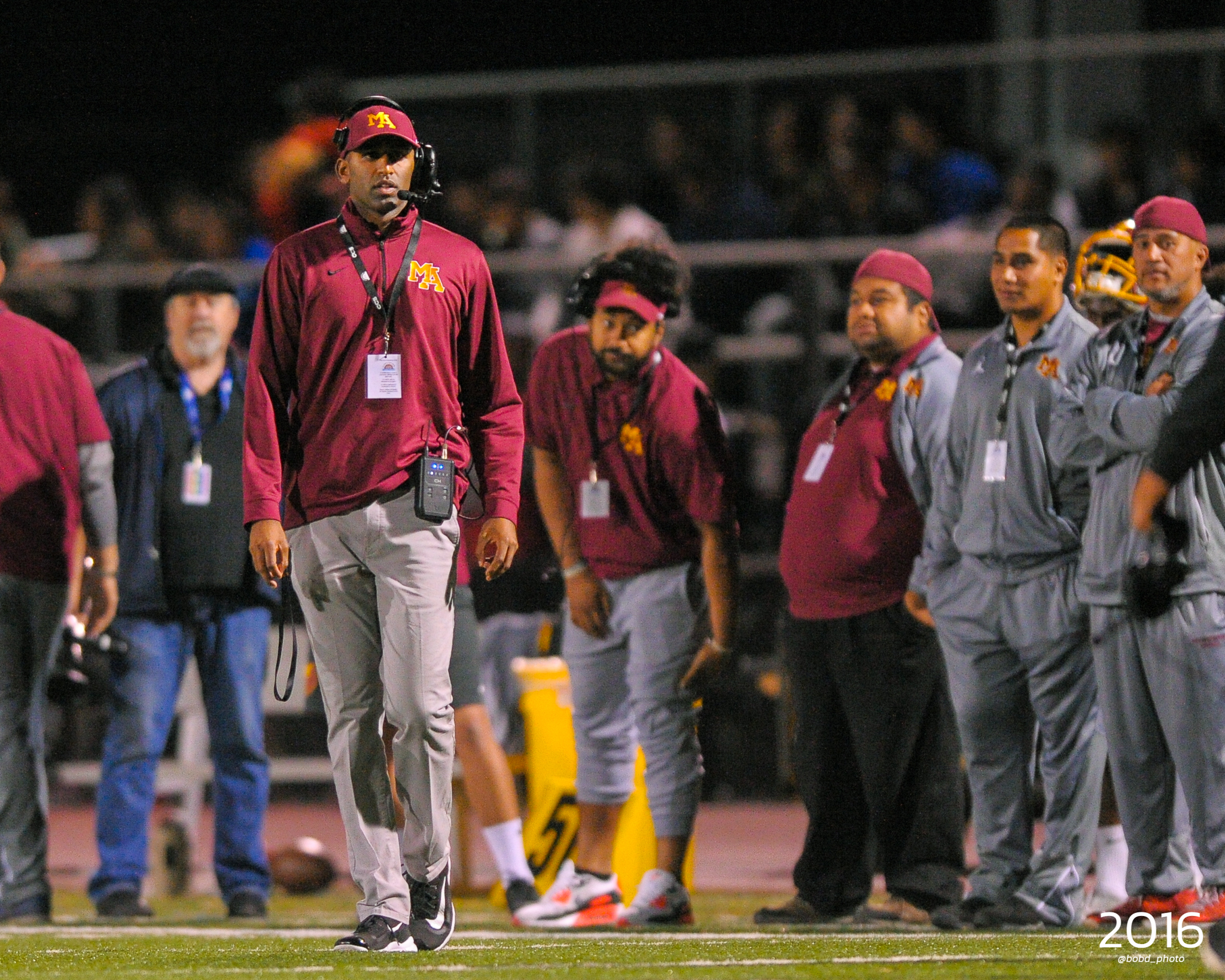 Coach Adhir Announces Departure from M-A Football, Concluding a Historic Four-Year Run