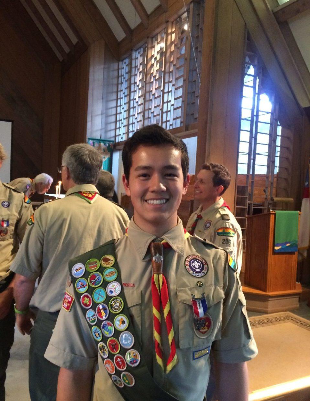 Schuyler Knapp: Eagle Scout
