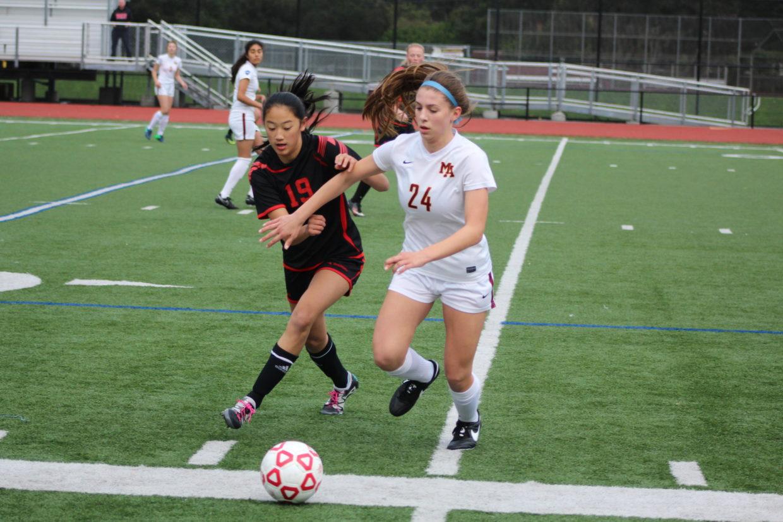 Girls Varsity Soccer Crushes Burlingame High School