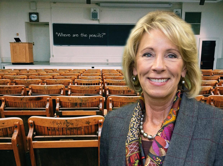 Betsy DeVos Threatens American Education