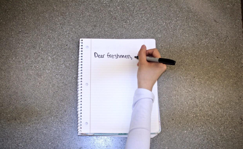 Dear Freshmen: Finals Advice from Upperclassmen