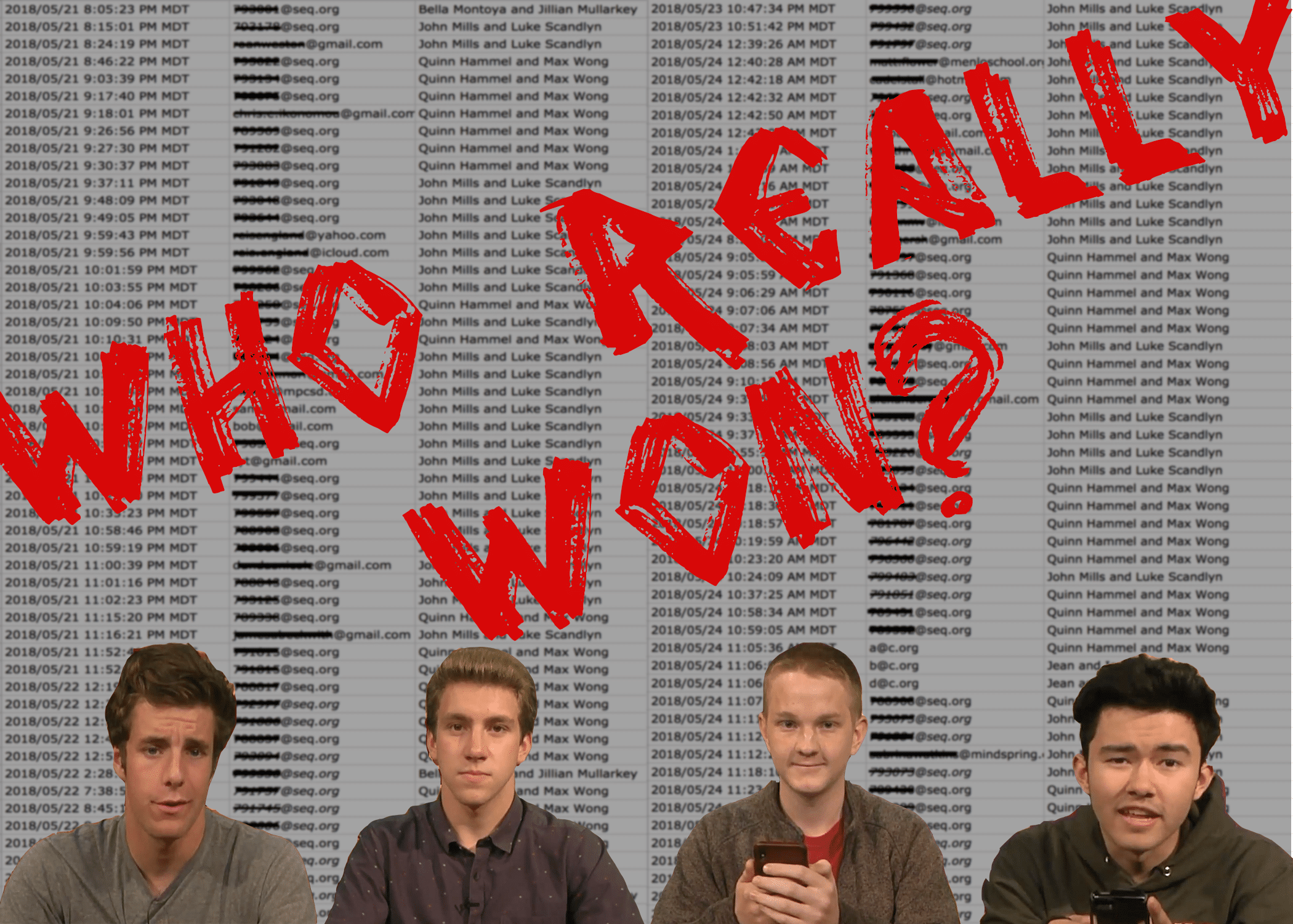 Update: Who Really Won the Class President Election?