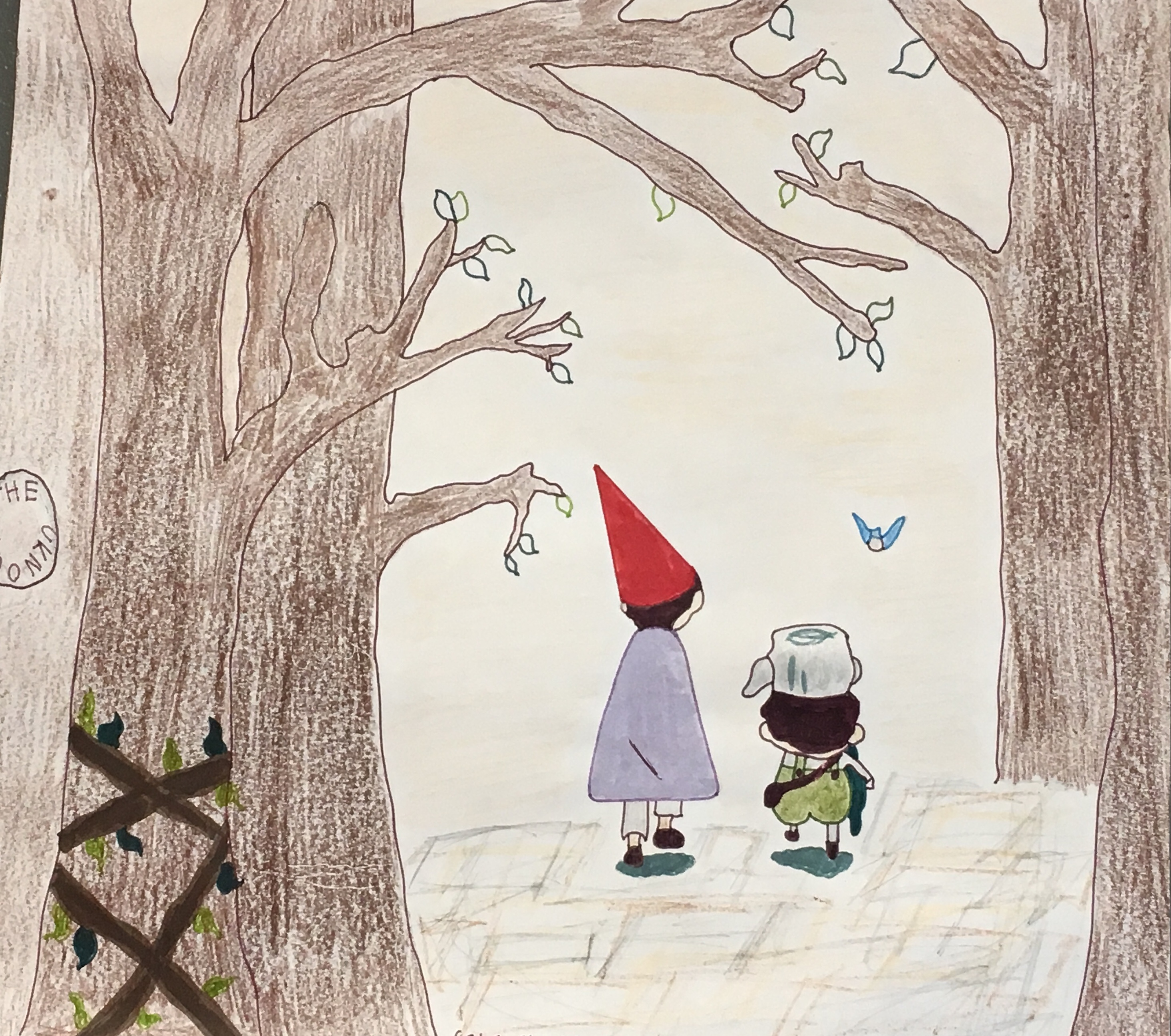 Over the Garden Wall and Outside the Old-School Box