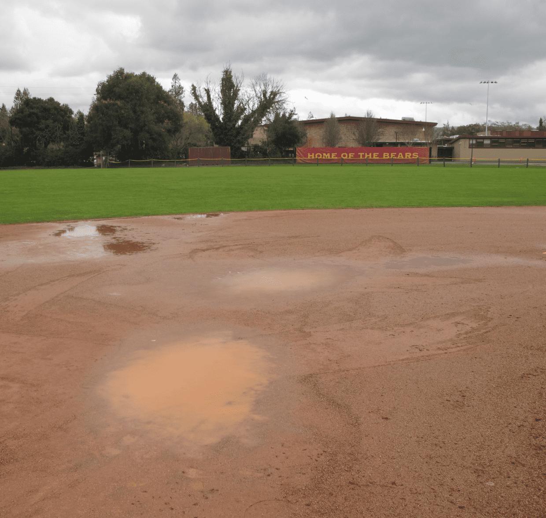 Boys Varsity Baseball: Much Ado About Weather