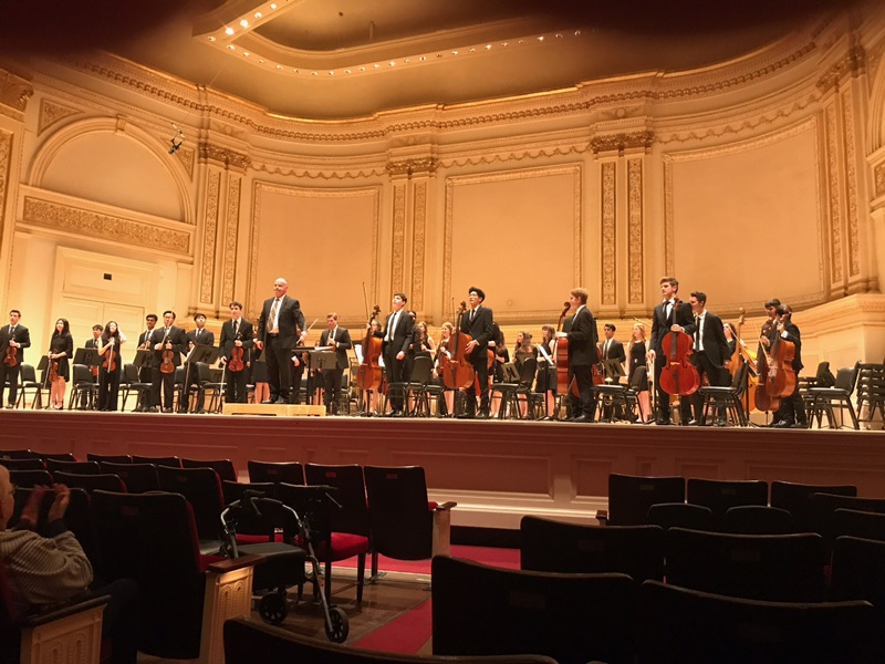 "Menlo-Atherton Orchestra leaves Carnegie Hall on a High ""Note"""