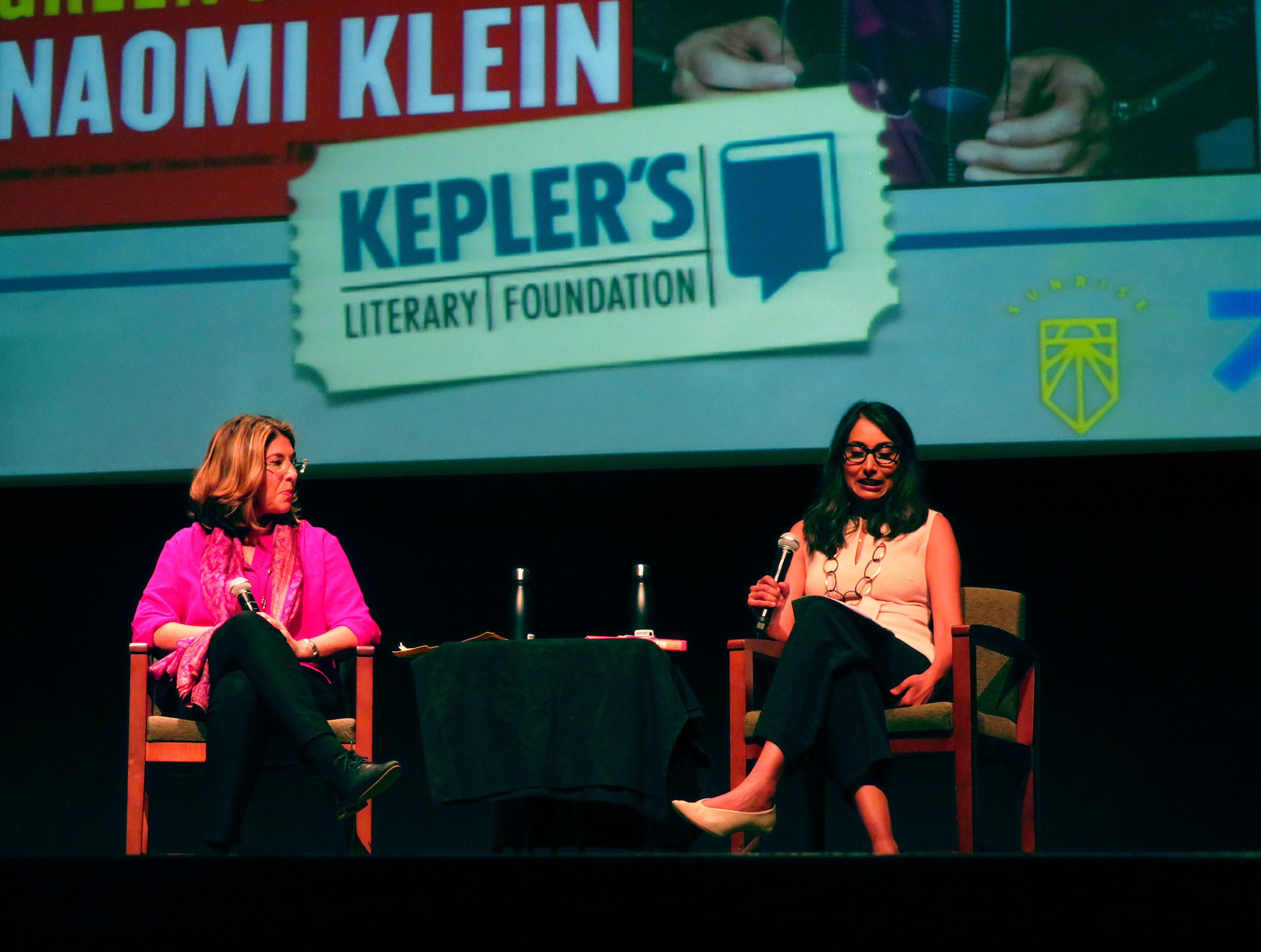 Author Naomi Klein Encourages Student Activism in Local Climate Talk