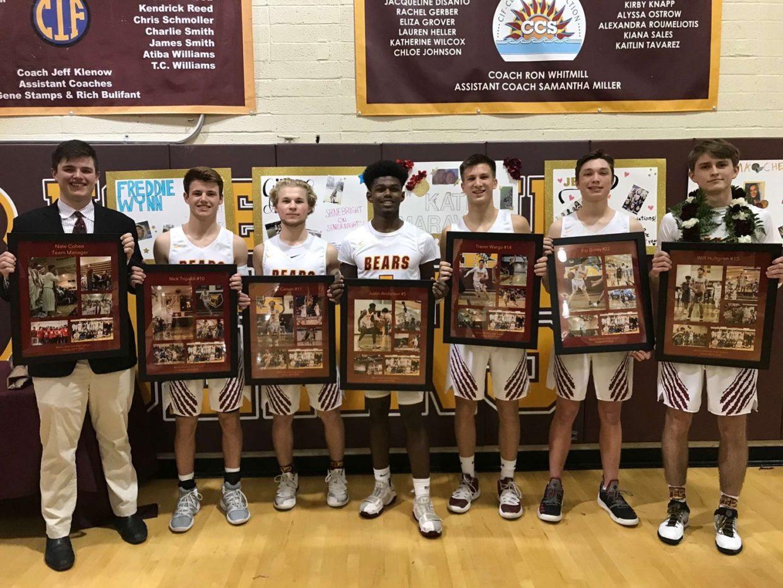 Boys Basketball Dominates on Senior Night