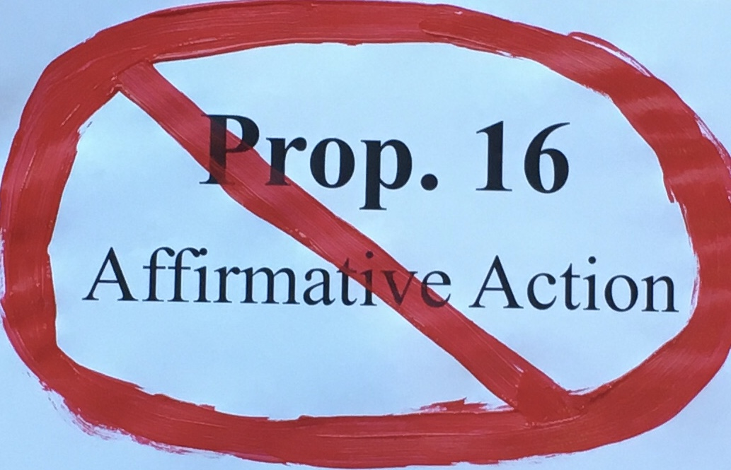 Dissenting Opinion: Prop 16 Hurts Those it Tries to Help