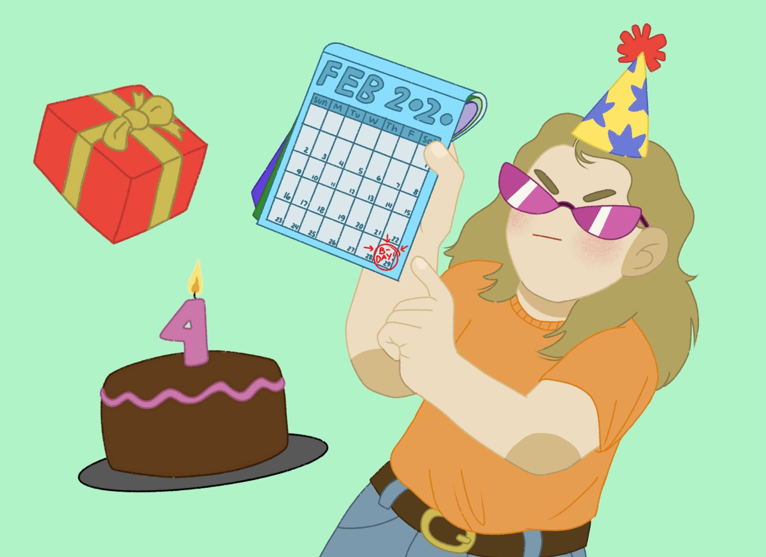 Opinion: Why It's Better to be Born on February 29th
