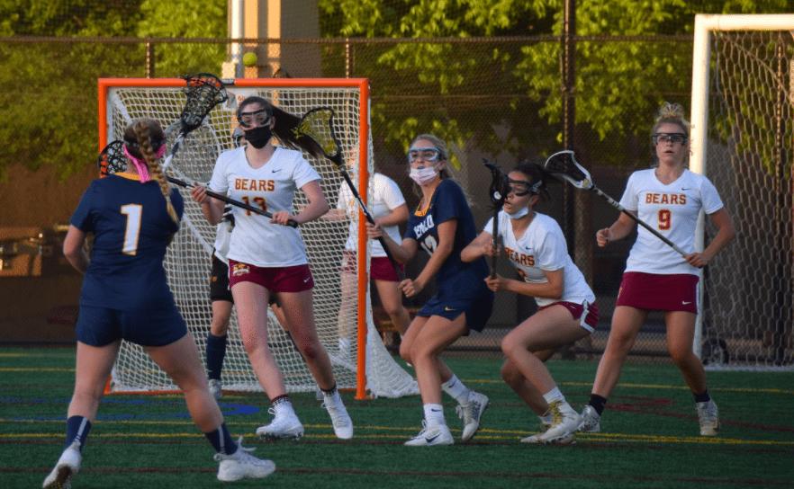 Girls Lacrosse Loses in Nail-biting Game Against Menlo School